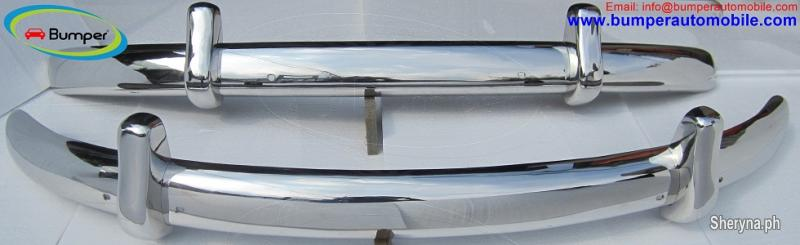 Volkswagen Beetle Euro Style Bumper 1955 1972 Stainless Steel